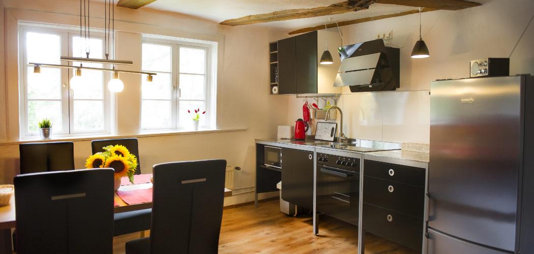 Ferienwohnung das Goslarer Runenhaus Küche Wohnung 1