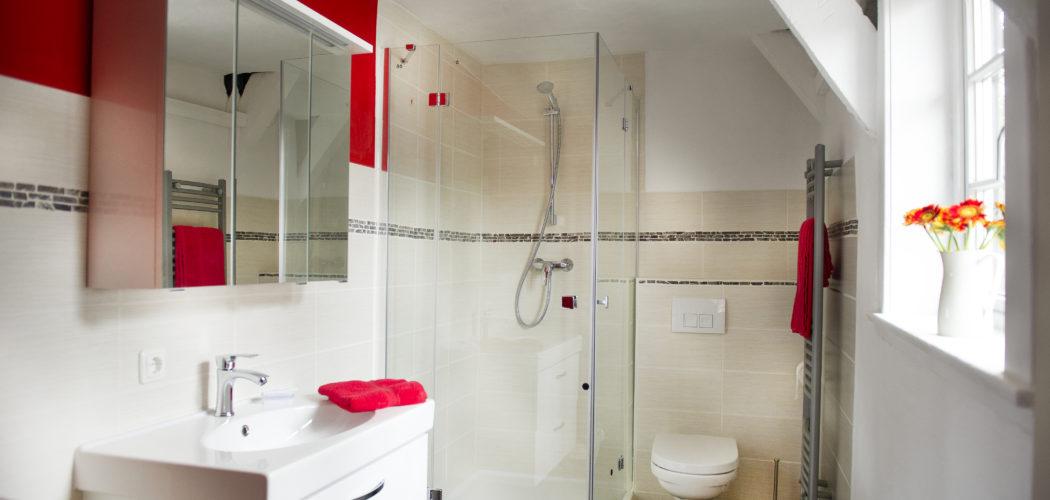 Ferienwohnung das Goslarer Runenhaus Badezimmer Wohnung 1