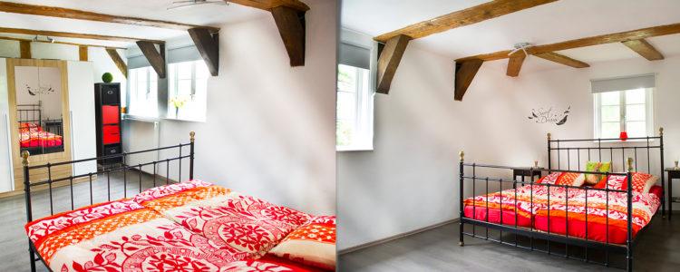 Ferienwohnung Goslar Schlafzimmer